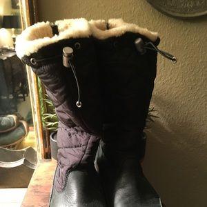 0451809b4da UGG Shoes | Tall Boots With Grey Braid Down The Back | Poshmark